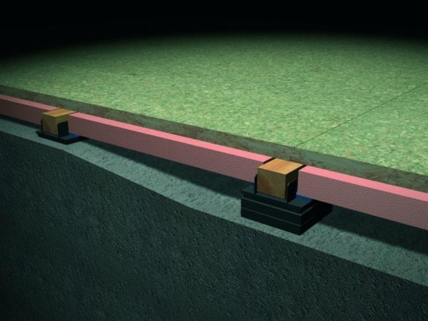 Danskin Thermal Saddle Flooring - Commercial Connections Ltd