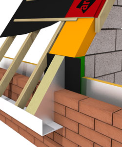 Arc T Barrier And Pitched Roof System Masonry
