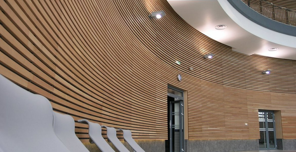 28 Curved Wood Walls Integrated Panels Hillside