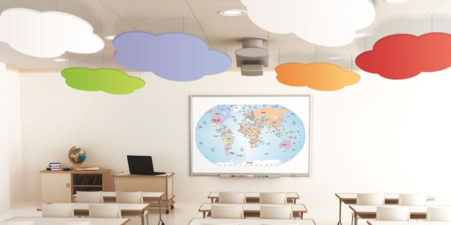 False Ceiling Design For Classroom ~ Soundsorba cloudsorba commercial connections ltd