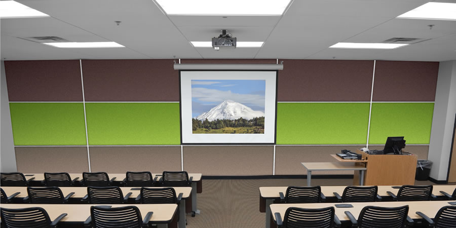 Classroom Acoustic Design ~ Soundsorba wallsorba acoustic panels commercial
