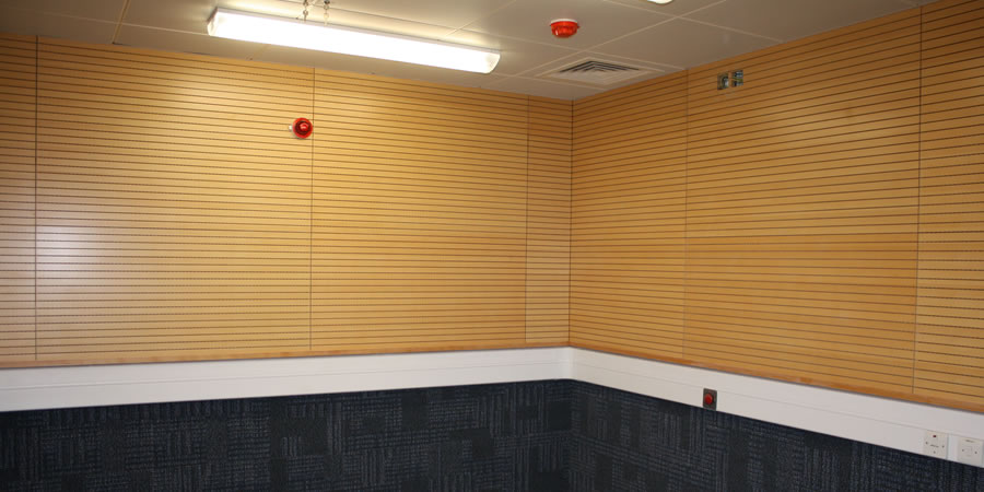 Wall Sound Insulation Material : Soundsorba woodsorba timber acoustic panels commercial